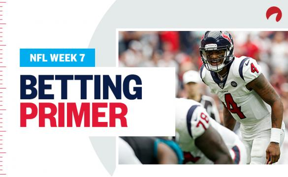 Week 7 NFL Betting Texans