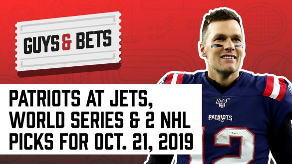 Odds Shark Guys & Bets Joe Osborne Kris Abbott Andrew Avery NFL Betting Odds Picks Tips Wagers New England Patriots Tom Brady