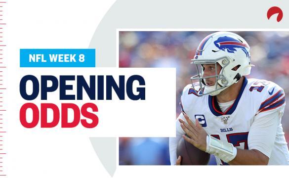 NFL Opening Odds Report Week 8 2019 Josh Allen