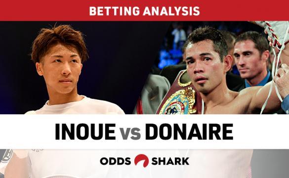 Inoue vs Donaire Betting Odds