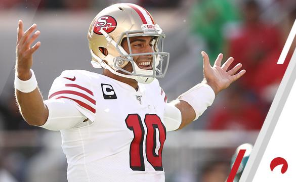 Undefeated NFL Teams after 8 weeks October 29, 2019 Jimmy Garoppolo