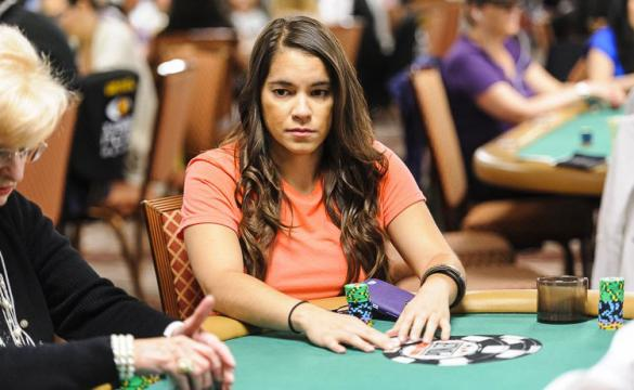 Pamela Plays a Hand of Poker in 2015