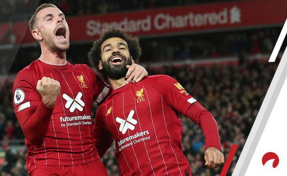Mohamed Salah Jordan Henderson Liverpool FC EPL Premier League Odds