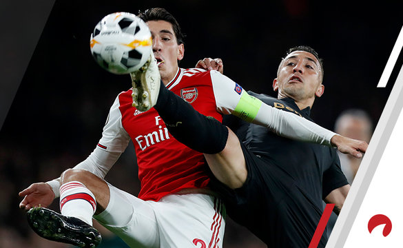 Davidson Vitoria Hector Bellerin Arsenal 2019-20 Odds to Win Europa League Soccer Futures