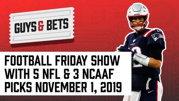Odds Shark Guys & Bets Joe Osborne Andrew Avery Chalk Ninja NFL Betting Odds Tips Picks Predictions Bets Tom Brady