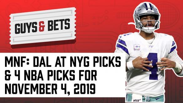 Odds Shark Guys & Bets Joe Osborne Andrew Avery NFL Betting Odds Picks Tips Predictions Dallas Cowboy Dak Prescott