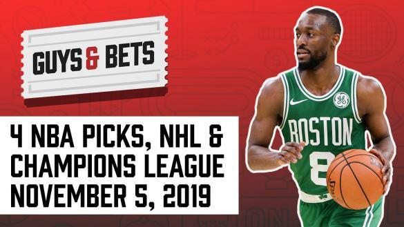 Odds Shark Guys & Bets Joe Osborne Andrew Avery NBA Betting Picks Predictions Tips Spread Total Kemba Walker Boston Celtics