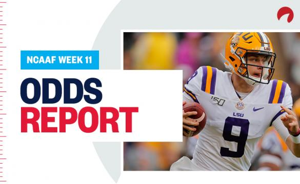 College Football Odds Report Week 11