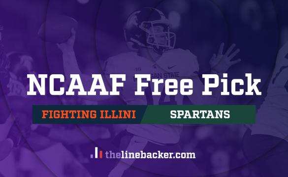 NCAAF Free Pick: Illinois Fighting Illini vs Michigan State Spartans