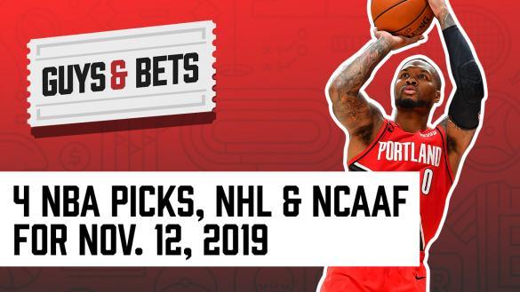 Odds Shark Guys & Bets Joe Osborne Andrew Avery NBA Betting Odds Tips Picks Predictions Odds Lines NHL College Football