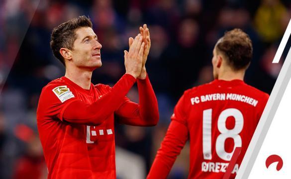 Robert Lewandewski Bayern Munich Bundesliga Betting Odds