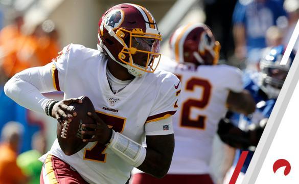 Dwayne Haskins NFL Football Betting Preview New York Jets vs Washington Redskins