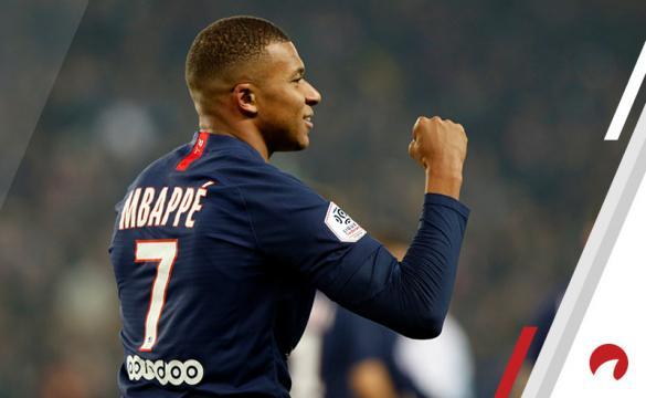 Kylian Mbappe Ligue 1 Soccer Betting Odds