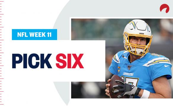 Pick Six Week 11 November 7, 2019 Philip Rivers