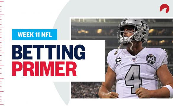 NFL Week 11 Betting