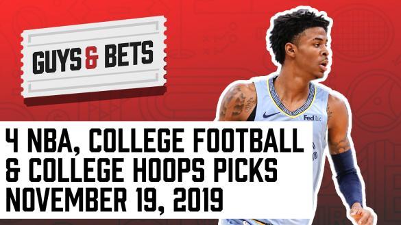 Odds Shark Guys & Bets NBA College Football Basketball Betting Odds Picks Tips Predictions Ja Morant