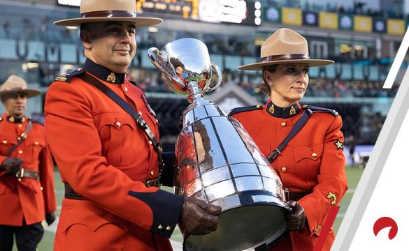 how many points do i give on a grey cup bet