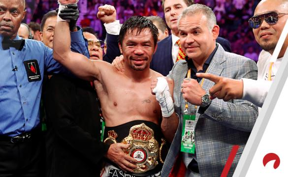 Odds to be Manny Pacquiao's next opponent