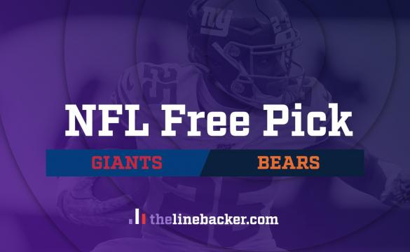 NFL Free Pick Linebacker Giants vs Bears
