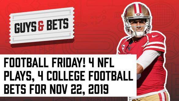 Odds Shark Guys & Bets Joe Osborne Andrew Avery Harry Gagnon Pamela Maldonado NFL College Football Betting Bets Odds Tips Predictions Wagers Jimmy Garoppolo
