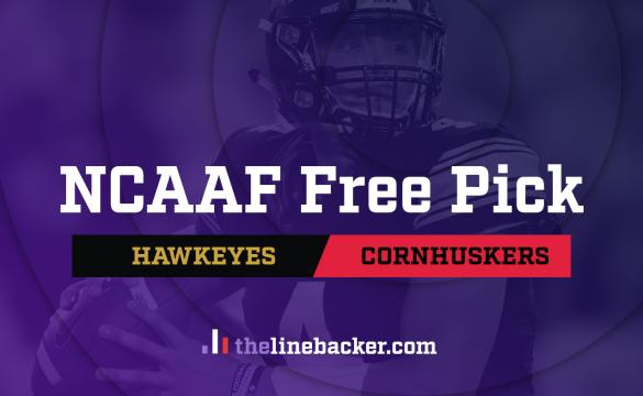 NCAAF Free Pick From Linebacker: Iowa Hawkeyes vs Nebraska Cornhuskers