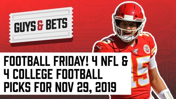Odds Shark Guys & Bets Andrew Avery Joe Osborne Harry Gagnon Pamela Maldonado NFL Betting Odds Tips Picks Predictions College Football Patrick Mahomes