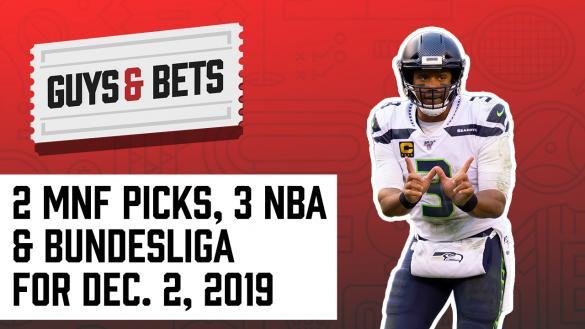 Odds Shark Guys & Bets Joe Osborne Andrew Avery NFL Betting Odds Tips Picks Predictions Seattle Seahawks Monday Night Football