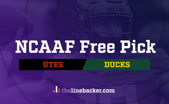 NCAAF Free Pick From Linebacker: Utah vs Oregon