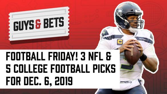Odds Shark Guys & Bets Joe Osborne Andrew Avery Harry Gagnon Pamela Maldonado NFL College Football Betting Odds Tips Picks Spread Predictions Russell Wilson