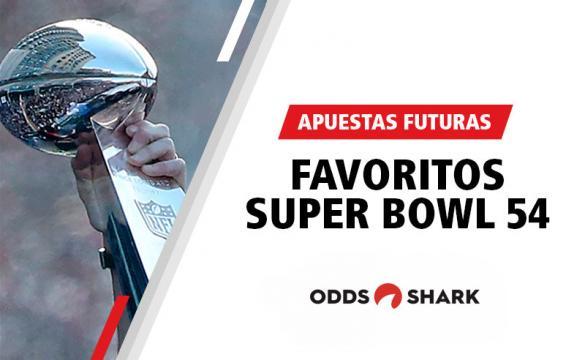 Favoritos por las casas de apuestas para ganar el Super Bowl 54