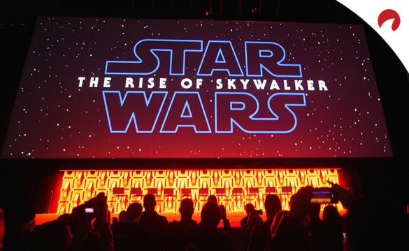 A preview of 'Star Wars: the Rise of Skywaker' is shown.