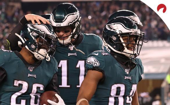 Carson Wentz Miles Sanders Greg Ward NFL Football Betting Preview Philadelphia Eagles vs New York Giants