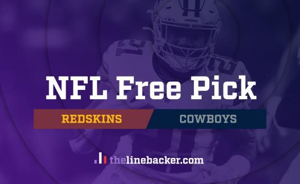 NFL Free Pick: Washington Redskins vs Dallas Cowboys