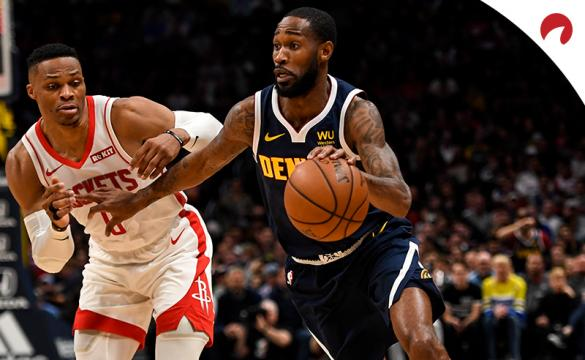 Russell Westbrook Will Barton NBA Basketball Betting Preview Denver Nuggets vs Houston Rockets
