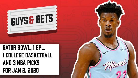 Odds Shark Guys & Bets NBA Betting Odds Tips Picks Predictions Wagers Bets College Football Premier League Football Jimmy Butler