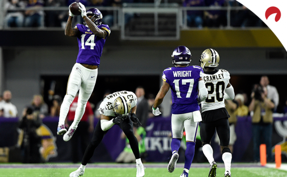 Previa para apostar en el New Orleans Saints Vs Minnesota Vikings de la NFL 2019