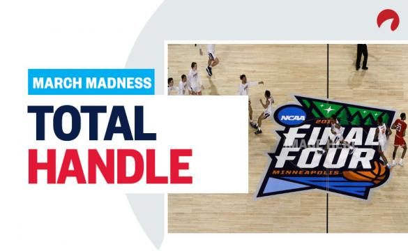 March Madness Betting Total Handle