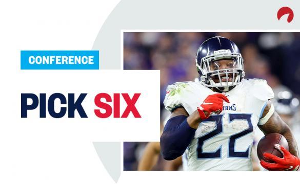 Pick Six Conference Championships Derrick Henry January 16 2020