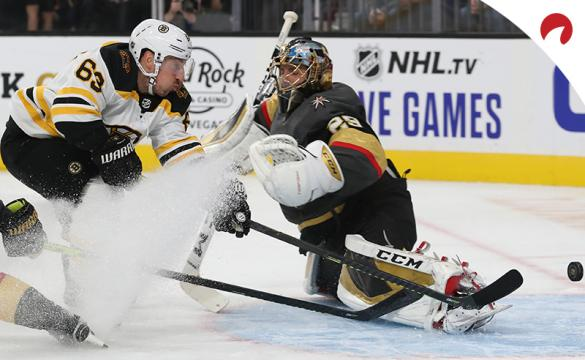 Brad Marchand Marc-Andre Fleury NHL Hockey Betting Preview Vegas Golden Knights vs Boston Bruins