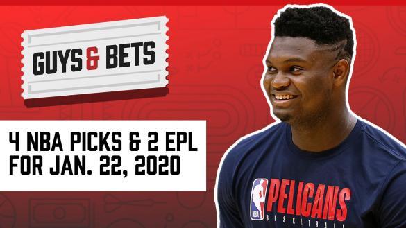 Odds Shark Guys & Bets Joe Osborne Andrew Avery NBA Betting Odds Tips Picks Predictions Zion Williamson Soccer Betting