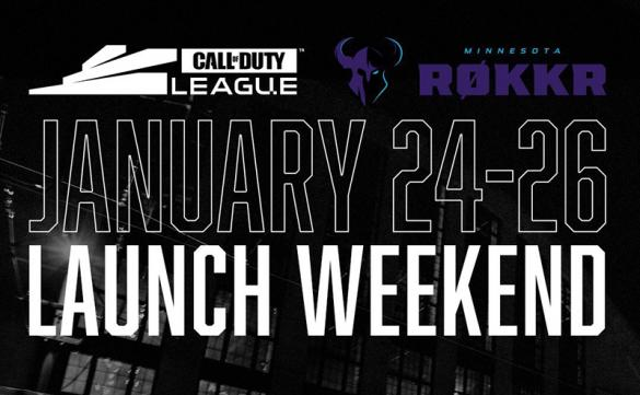 The Minnesota ROKKR will host the first weekend of action in the Call of Duty League