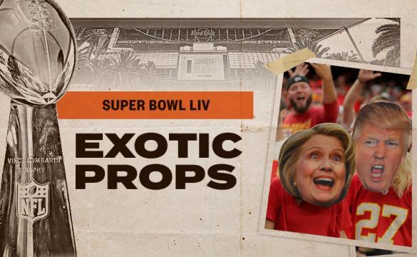NFL Super Bowl 54 Exotic Prop Bets