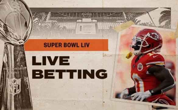 Super Bowl Live Betting Guide