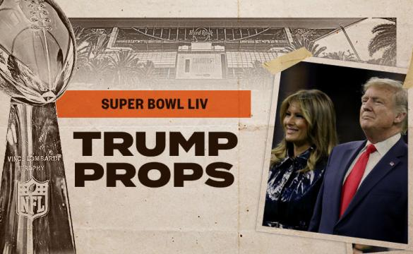 Donald Trump Super Bowl 54 Odds
