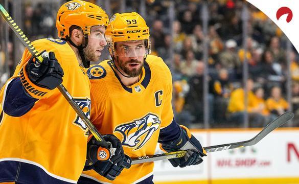 Calle Jarnkrok Roman Josi NHL Hockey Betting Preview Nashville Predators vs Washington Capitals
