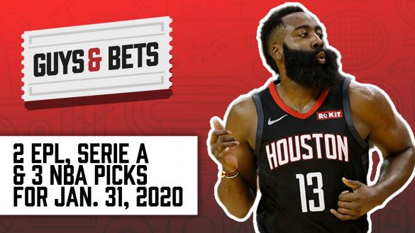 Odds Shark Guys & Bets Joe Osborne Andrew Avery NBA Premier League Serie A Betting Odds Tips Picks Predictions Wagers Spreads Totals