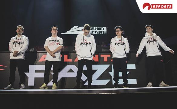 Ever since the opening weekend that saw them go 2-0, the Atlanta Faze have sat atop the CDL.