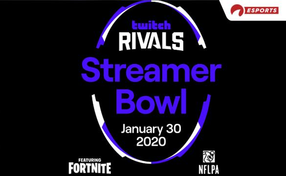 The Twitch Rivals Streamer Bowl will pit 16 duos against one another, each comprised of one streamer and one NFL player.