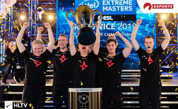 In the least shocking news, Astralis will be the betting favorite entering IEM Katowice.