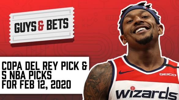 Odds Shark Guys & Bets Joe Osborne Andrew Avery NBA Betting Odds Tips Picks Predictions Bradley Beal